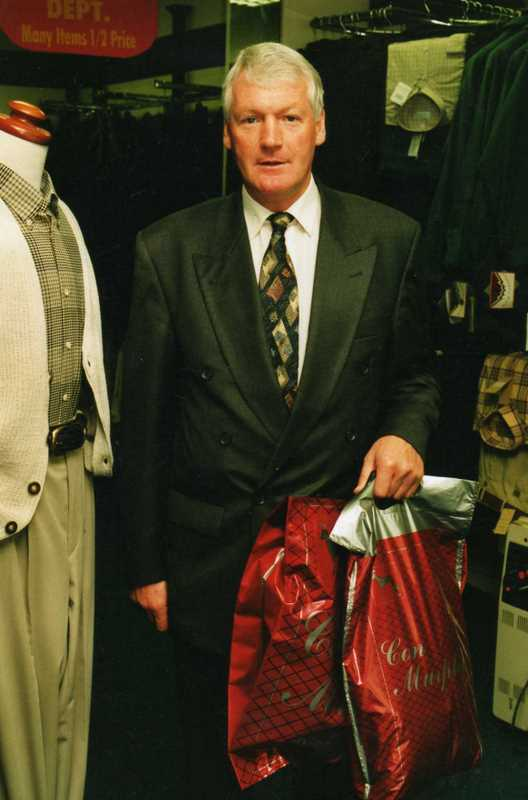 Billy Morgan 1990 - - Con Murphys Menswear