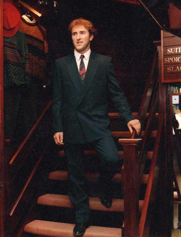 Brian Corcoran 1994 - - Con Murphys Menswear