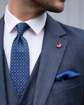 Bonn Check Navy Wedding Suit €289 - - Con Murphys Menswear