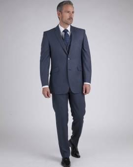 Blue Grey Rental Suit - Suit Hire - Con Murphys Menswear