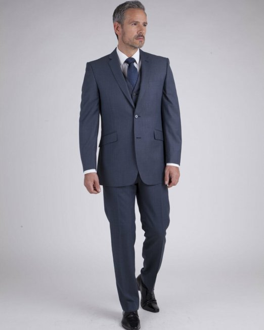 Blue Grey Rental Suit