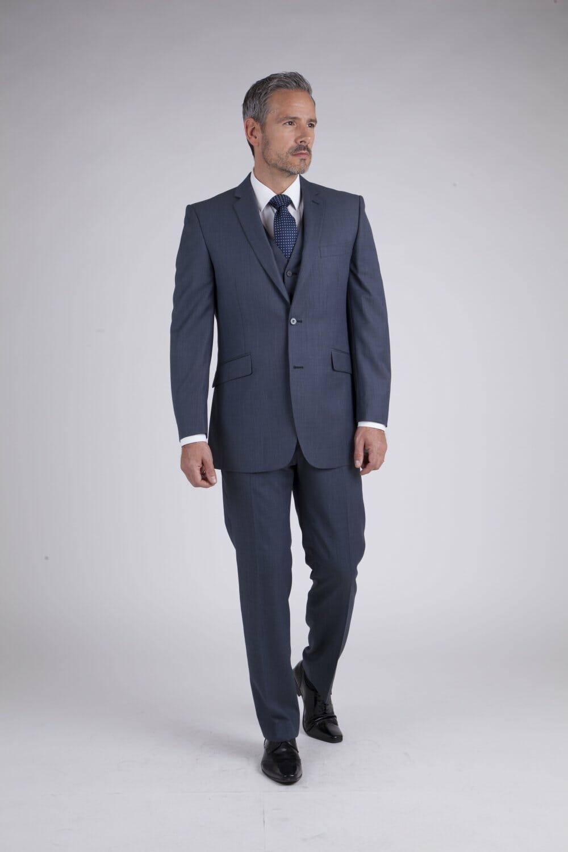 Blue Grey Rental Suit - - Con Murphys Menswear