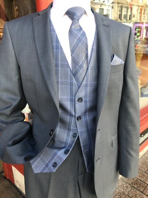 Blue Grey wc - - Con Murphys Menswear
