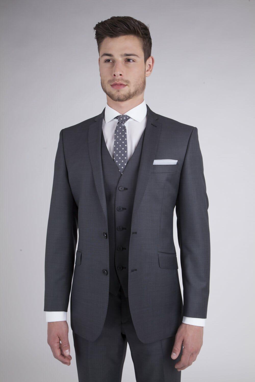 Charcoal Rental Suit - - Con Murphys Menswear