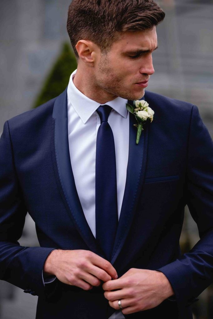 Navy Tuxedo 2 - - Con Murphys Menswear