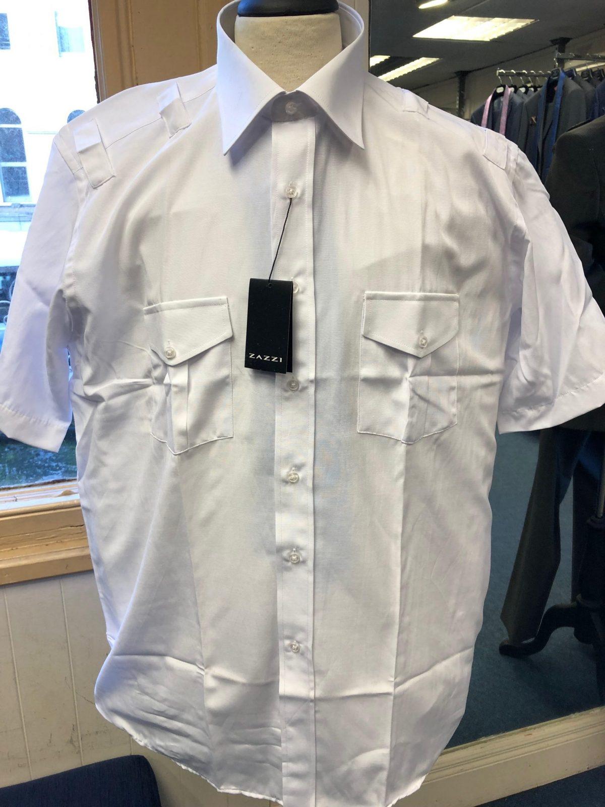 Pilot Shirt scaled - - Con Murphys Menswear