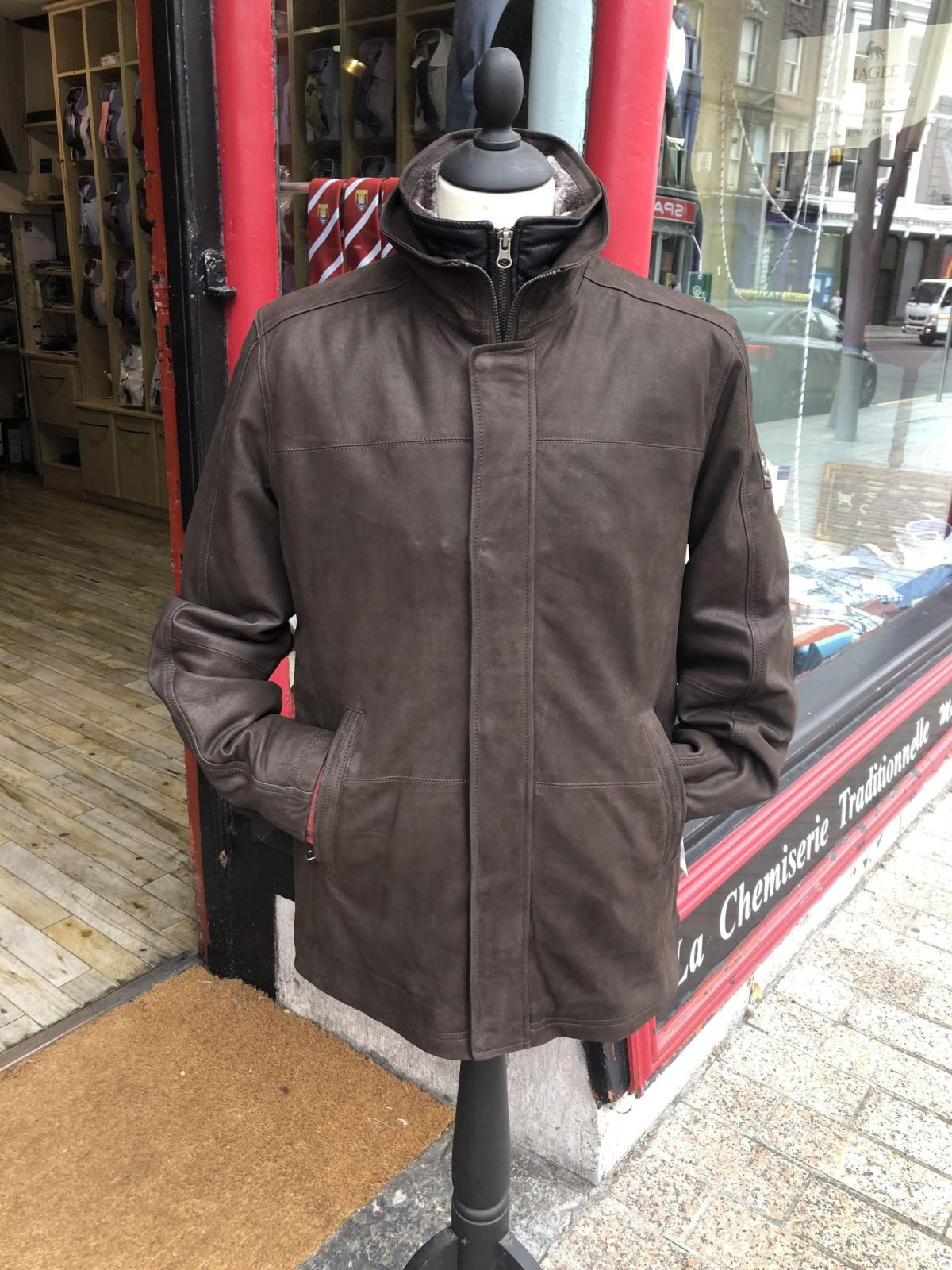 Redpoint Leather Jacket scaled - - Con Murphys Menswear