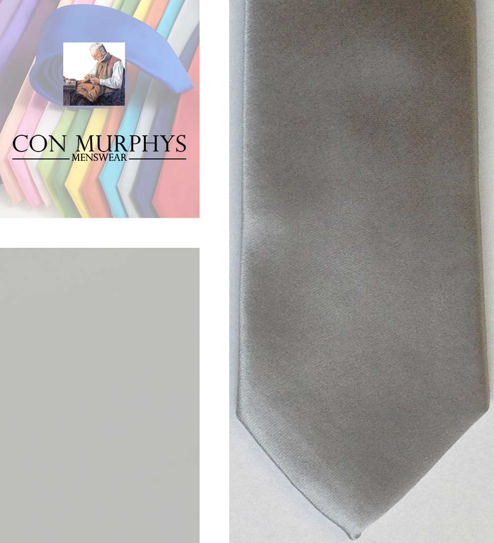 03 silver mens ties cork ireland con murphys - - Con Murphys Menswear