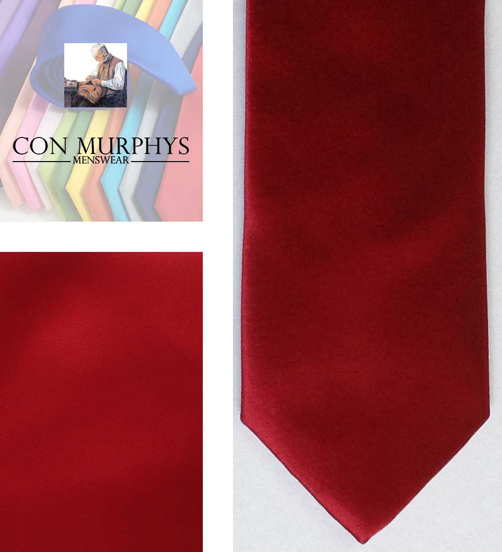 10 wine mens ties cork ireland con murphys - - Con Murphys Menswear