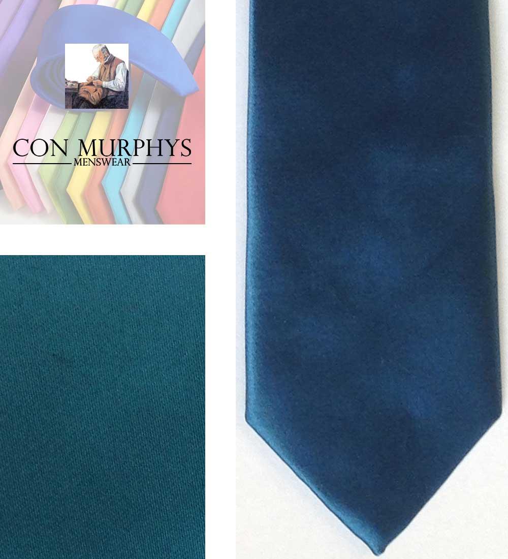 11 dark teal mens ties cork ireland con murphys - - Con Murphys Menswear