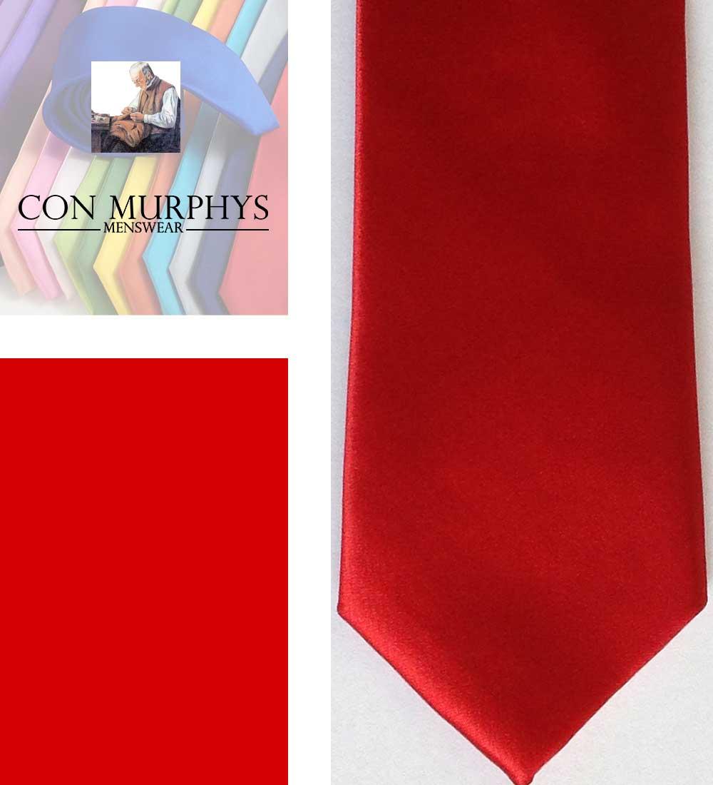 13 scarlet mens ties cork ireland con murphys - - Con Murphys Menswear