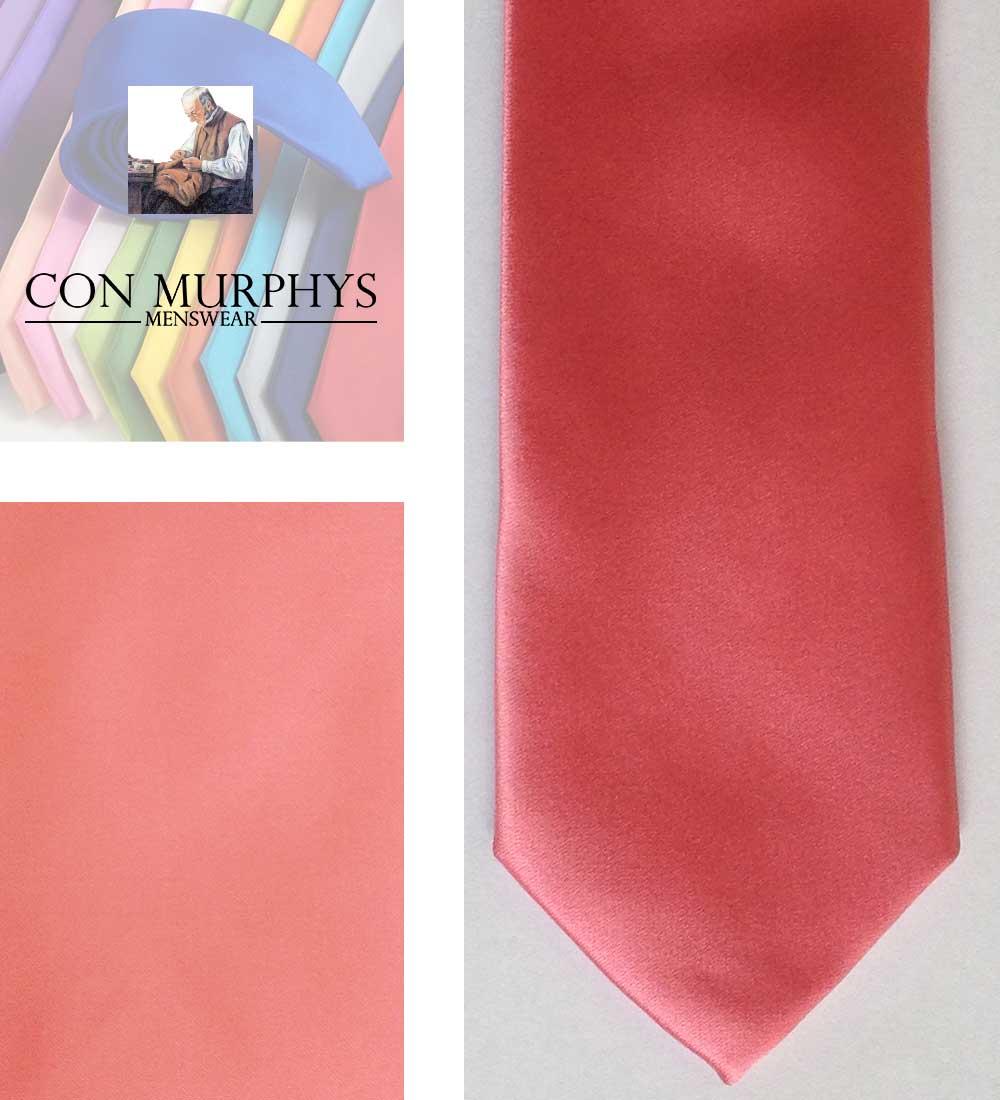 18 coral mens ties cork ireland con murphys - - Con Murphys Menswear