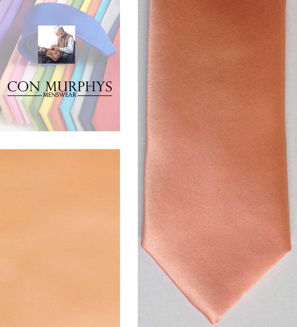 19 peach mens ties cork ireland con murphys - - Con Murphys Menswear