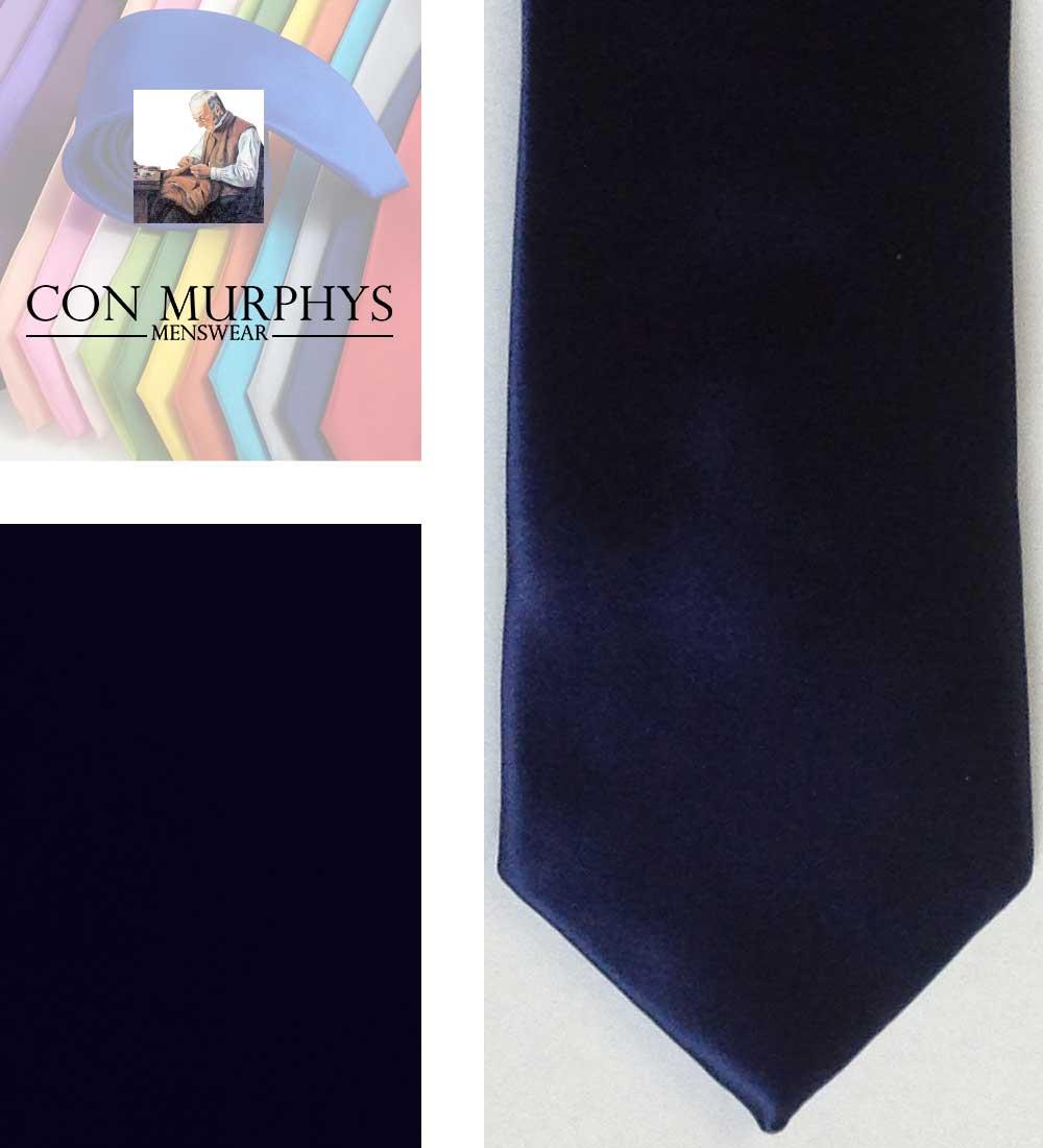 22 navy mens ties cork ireland con murphys - - Con Murphys Menswear