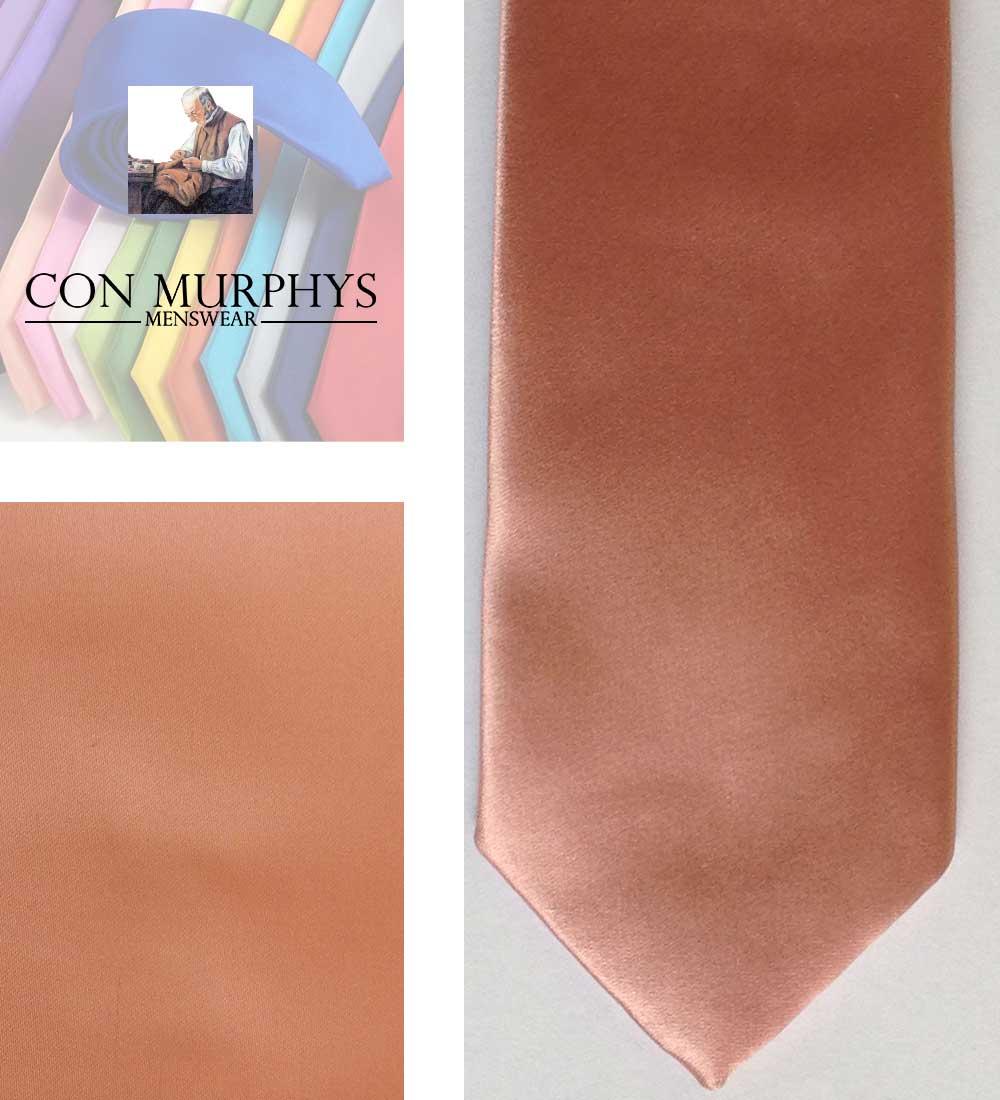 23 shell pink mens ties cork ireland con murphys - - Con Murphys Menswear