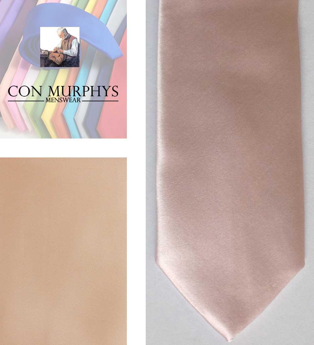 24 mens nude pink mens ties cork ireland con murphys - - Con Murphys Menswear