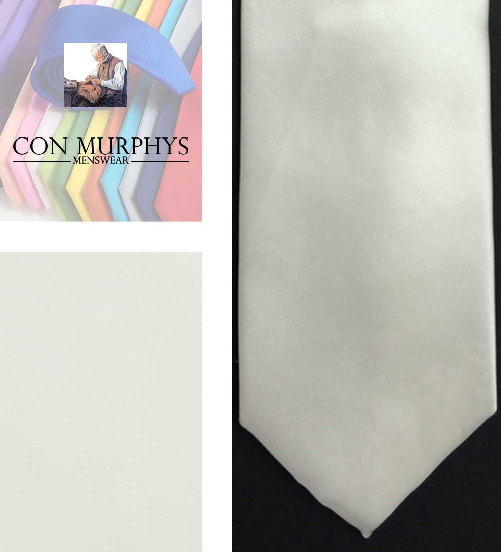 27 white mens ties cork ireland con murphys - - Con Murphys Menswear
