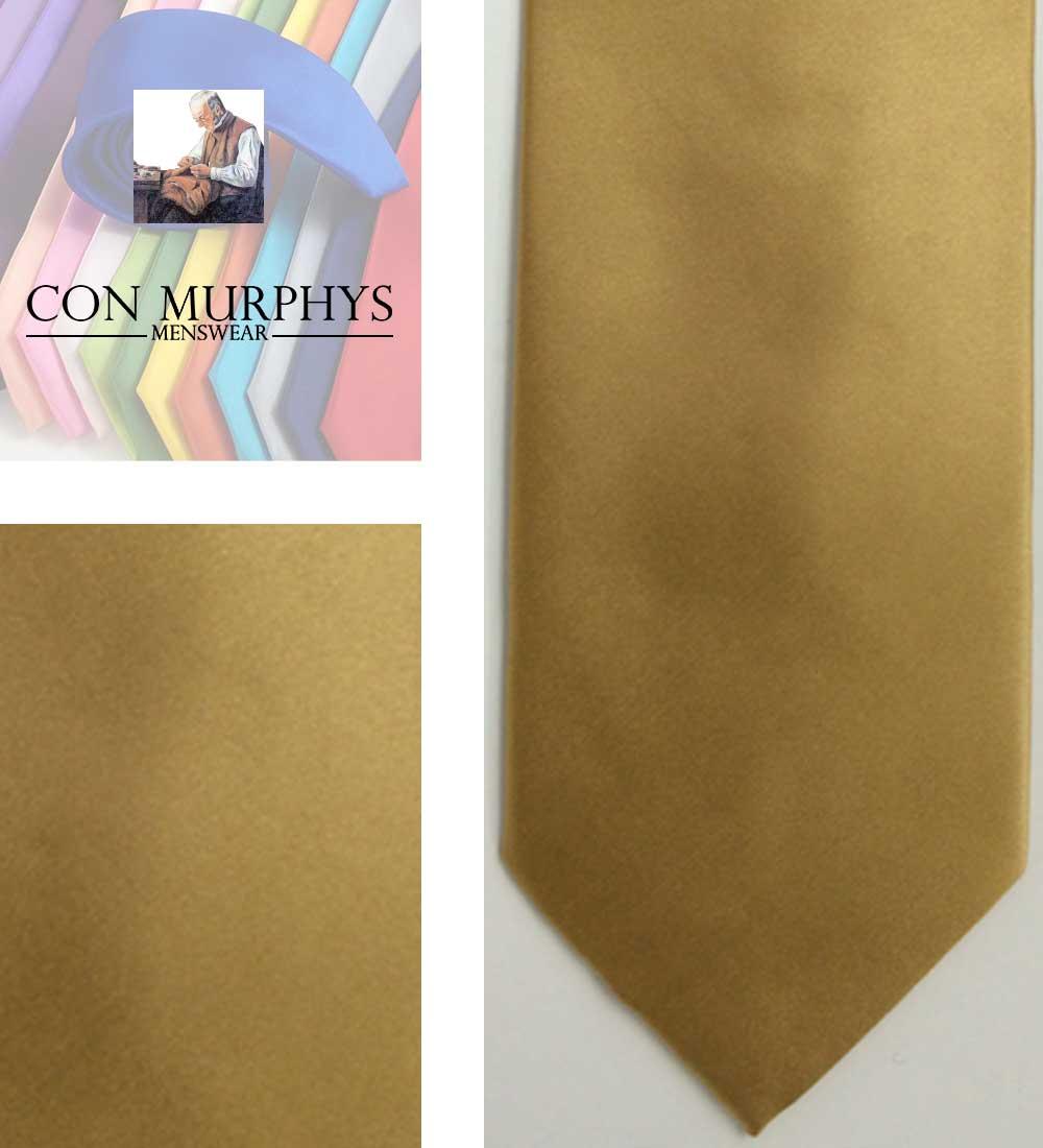 30 dark gold mens ties cork ireland con murphys - - Con Murphys Menswear