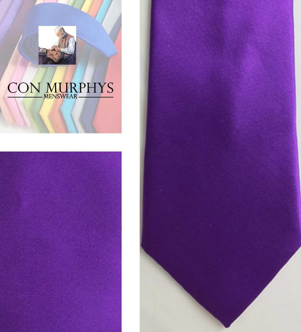 38 Cadbury purple 3 mens ties cork ireland con murphys - - Con Murphys Menswear