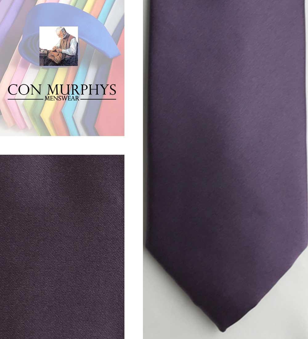 40 Grape mens ties cork ireland con murphys - - Con Murphys Menswear