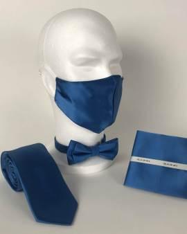 B1764 12 Light Blue FM. mens ties facemasks con murphys menswear cork scaled - - Con Murphys Menswear