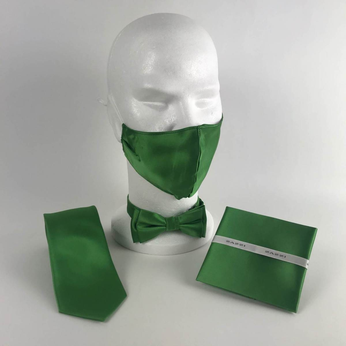 B1764 14 Grass FM. mens ties facemasks con murphys menswear cork scaled - - Con Murphys Menswear