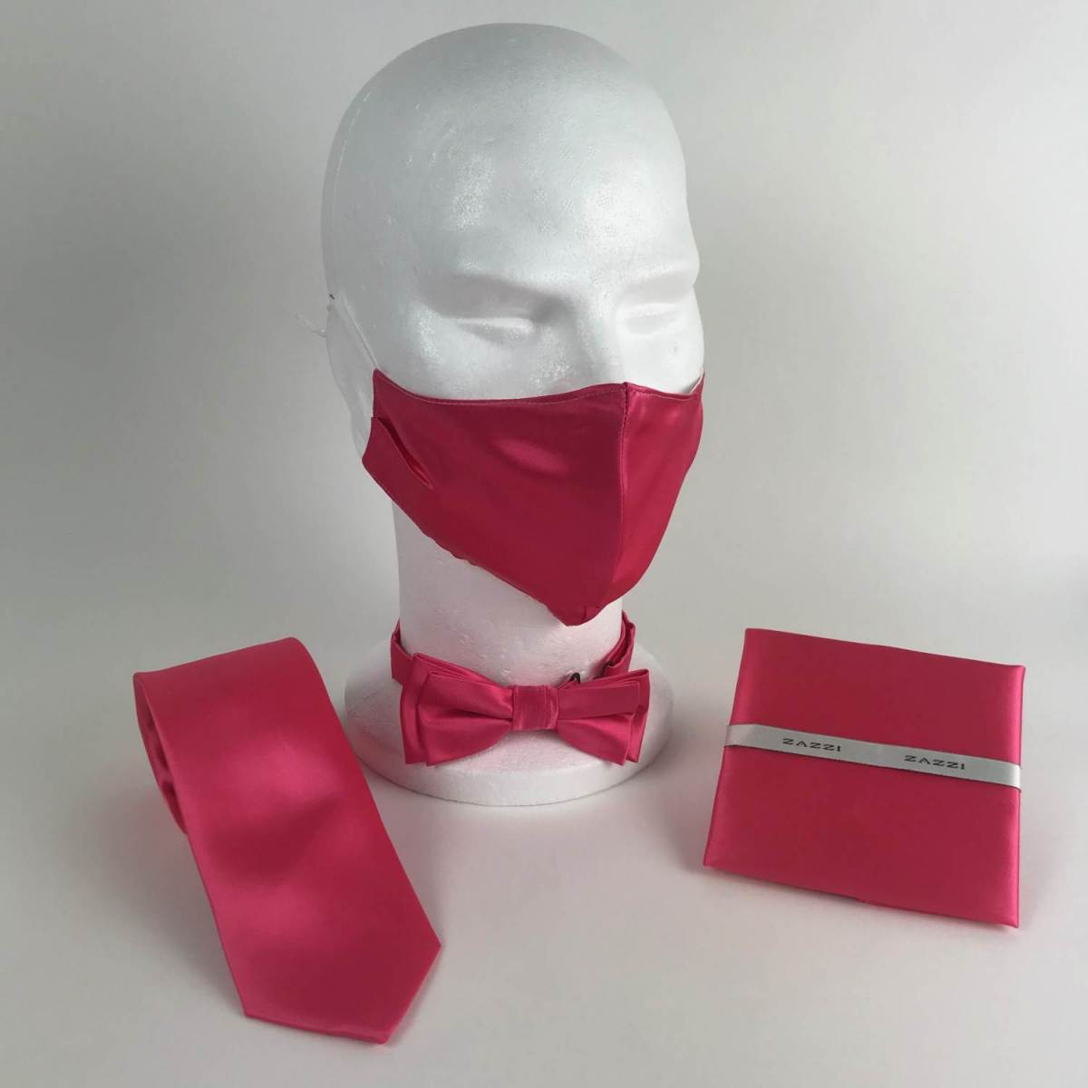 B1764 35 Lipstick FM. mens ties facemasks con murphys menswear cork scaled - - Con Murphys Menswear