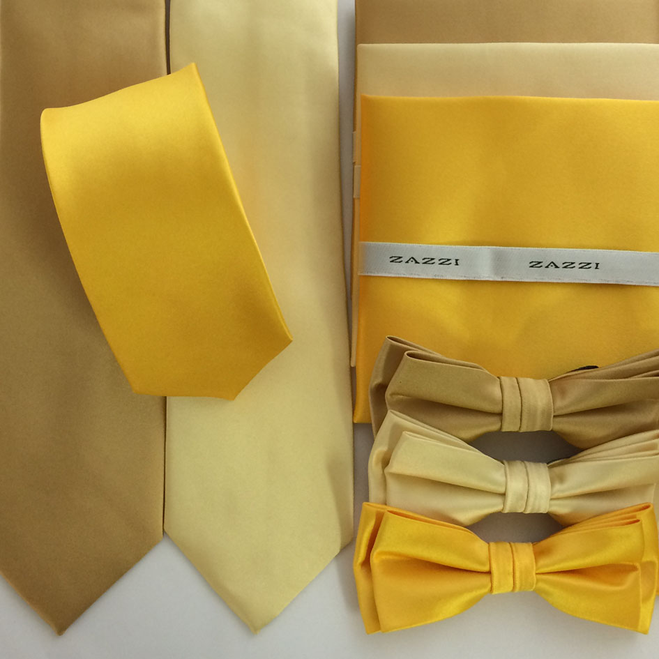 B1764 Golds Yellows All mens ties facemasks con murphys menswear cork - - Con Murphys Menswear