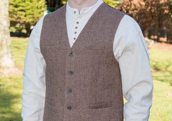 irish-tweed-waistcoat-brown