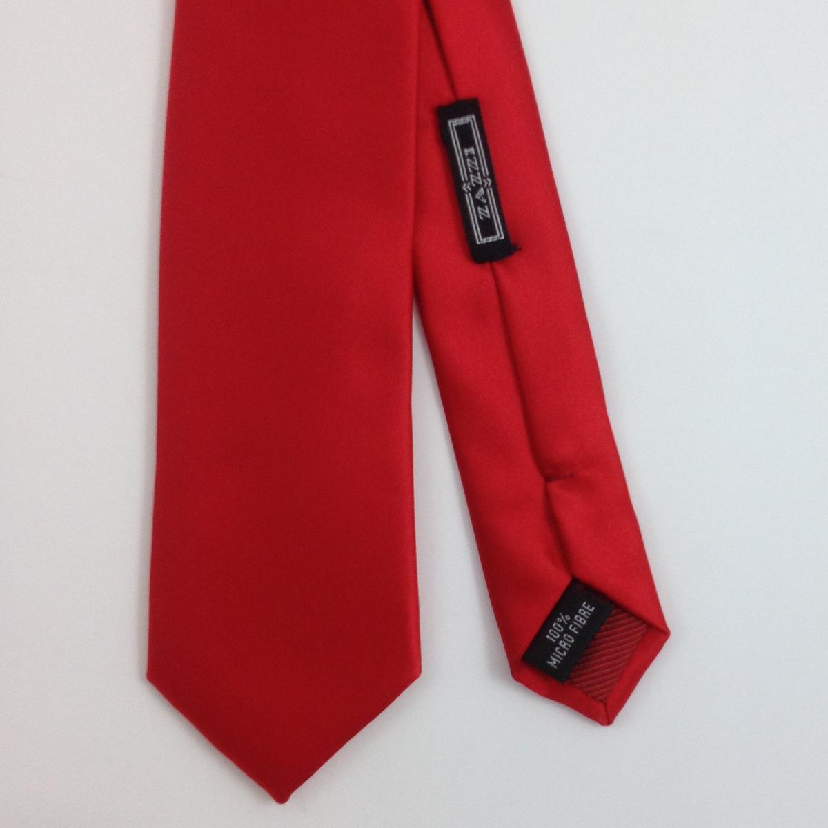 satin plain red r mens ties facemasks con murphys menswear cork - - Con Murphys Menswear