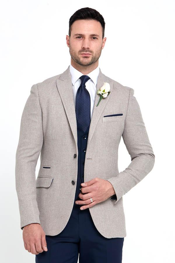 Benetti Simon Jacket Beige 89075 - - Con Murphys Menswear