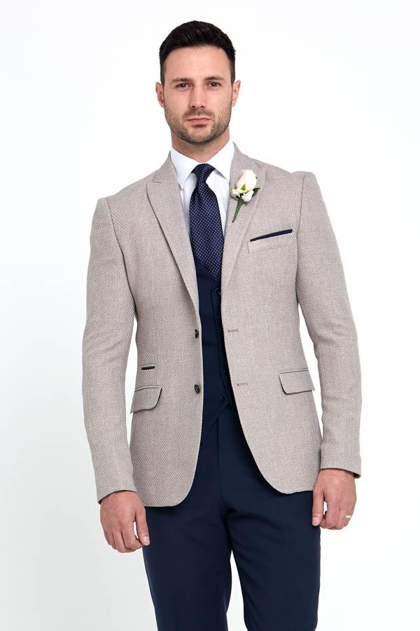 Benetti Simon Jacket Beige 89086 - - Con Murphys Menswear