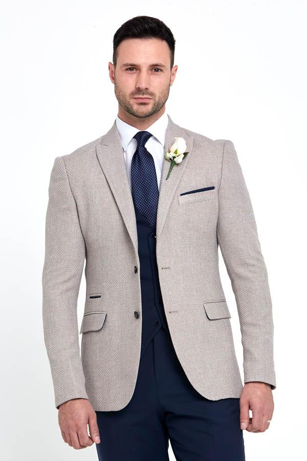 Benetti Simon Jacket Beige 89091 - - Con Murphys Menswear