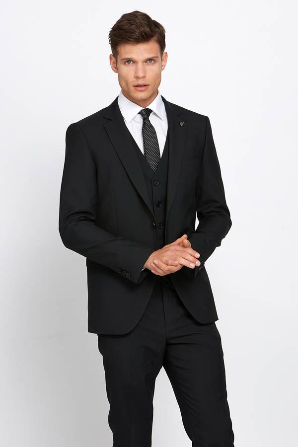 James Blk Suit 02 - - Con Murphys Menswear