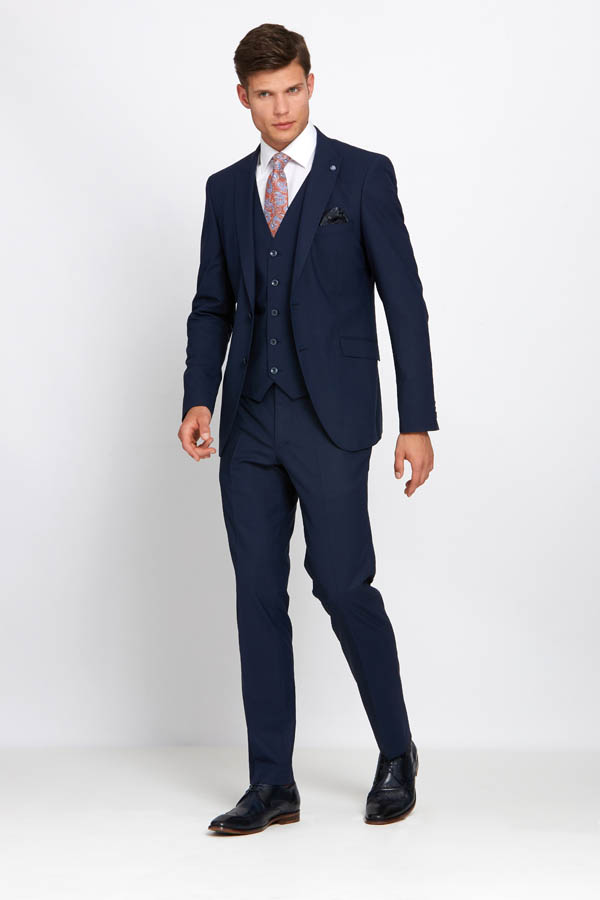 Johnny Navy Suit 01 - - Con Murphys Menswear
